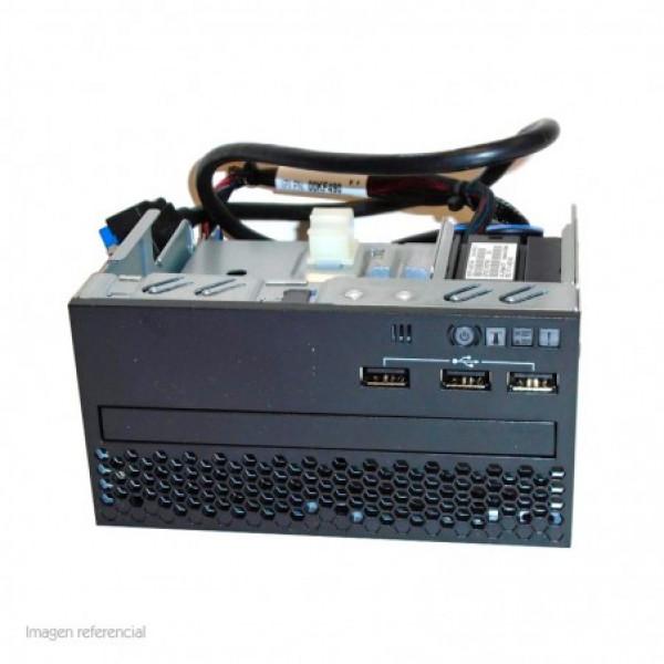 Panel frontal Lenovo X3650 M5. 3X Usb, Optional Optical Drive