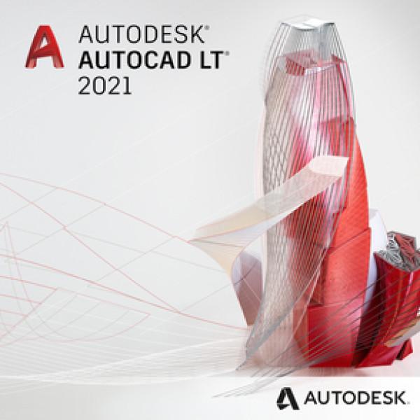 Autodesk AutoCAD LT 2021 (electrónico) 1 año de licencia local, 057M1-WW7302-L221