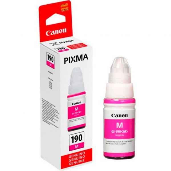 Cartucho CANON GI-190M PIXMA 70ml G1100 G2100 G3100 Magenta