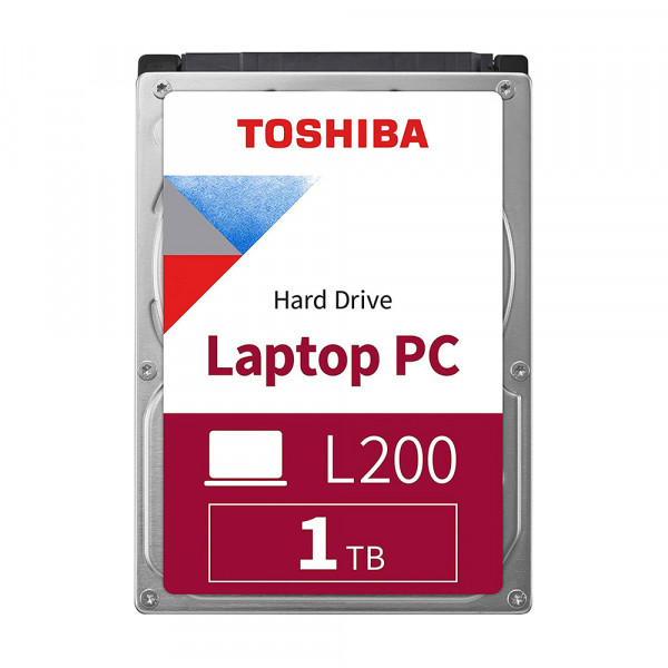 """Disco duro para portátil Toshiba 1TB SATA 2.5"""" L200"""