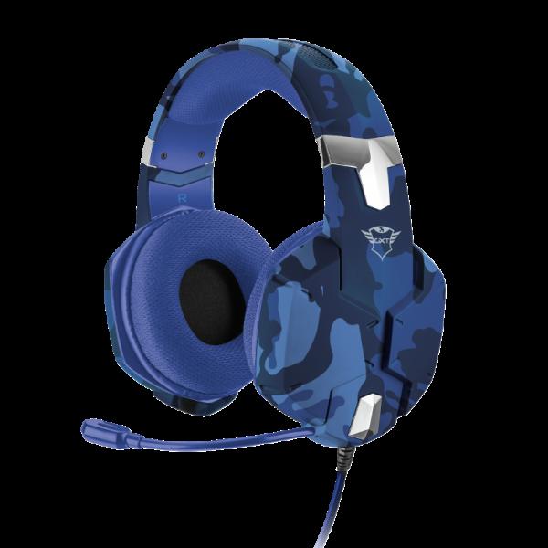 Audífonos Gaming Trust Carus Azul GXT322B