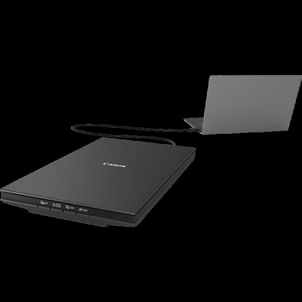 Escáner canon lide 300 - 2400x4800dpi - usb 2.0 - a4 - cama plana - negro