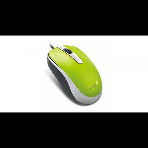 DX-120 (green), Mouse alámbrico USB