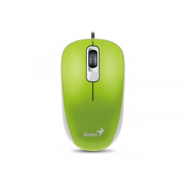 Mouse alámbrico USB Genius DX-110 USB Verde