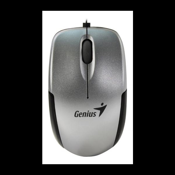 Mouse GENIUS Micro TR USB  Retractil Silver