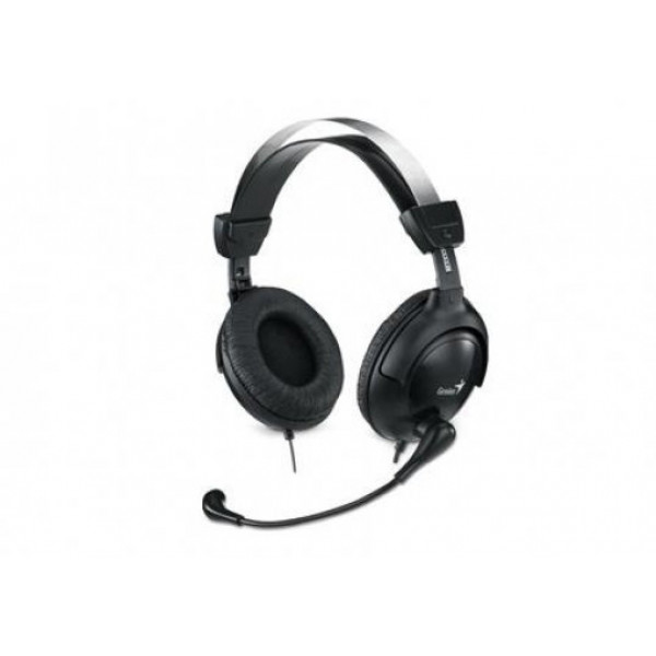 Audífono Genius tipo diadema con micrófono. HS-M505X