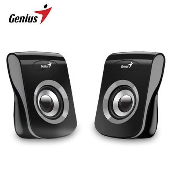 Parlantes  SPEAKER GENIUS SP-Q180  USB 6 W (IRON GREY)