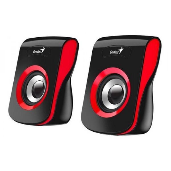 Parlante Genius SP-Q180 USB Rojo
