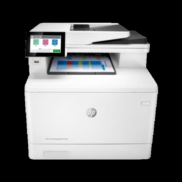 Impresora multifunción HP Color LaserJet Managed E47528f