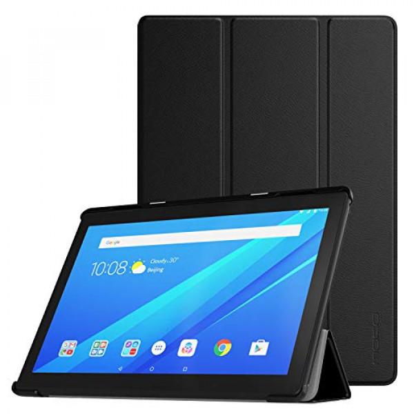 Tablet Lenovo Tab M10 + Estuche en cuero sintético - Negra 16 GB