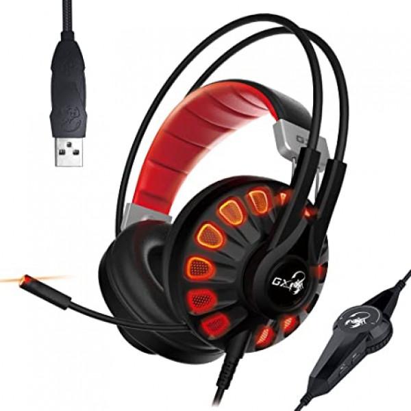 Audífono Genius gaming de 7.1 canales virtuales HS-G680