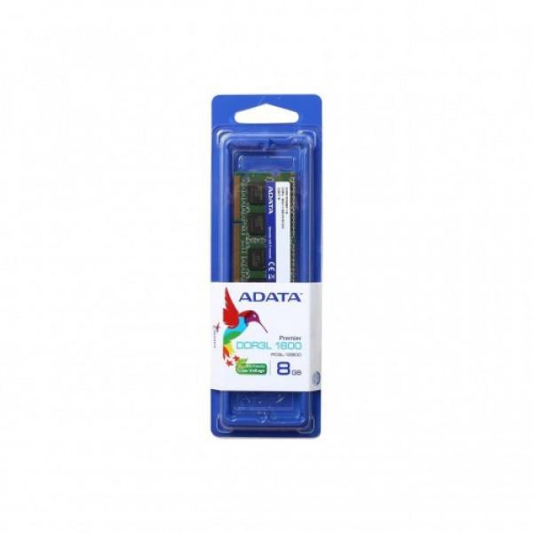 Memoria RAM Portátil 8GB Adata DDR3 BUS 1600