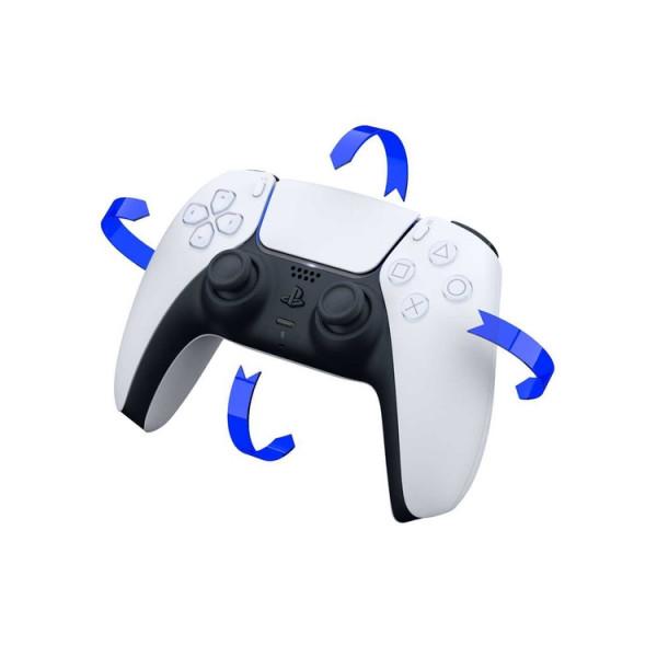 Control para consola PLAYSTATION PS5 DualSense Blanco y Negro