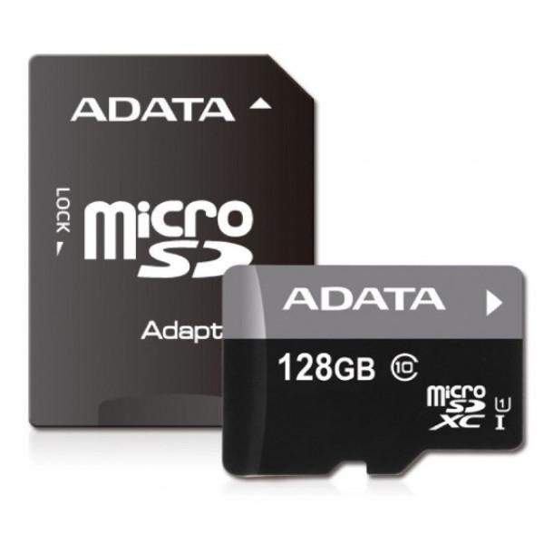 Memoria Micro SD 128GB Adata con adaptador SD