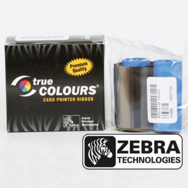 Cinta para impresora de tarjetas de identificación Zebra 800015-140