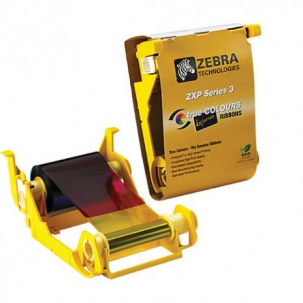 Cinta para impresora de tarjetas de identificación Zebra 800033-340