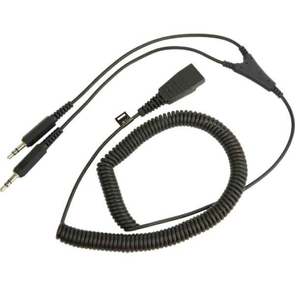 Cable Jabra 8734-599 - 3.5mm a Conector DQ - 2 Mts