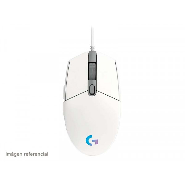 Mouse G203 Prodigy Gaming Blanco