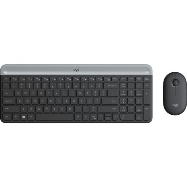 Combo teclado mouse Logitech Wireless MK470 (LAT/MX ESP)