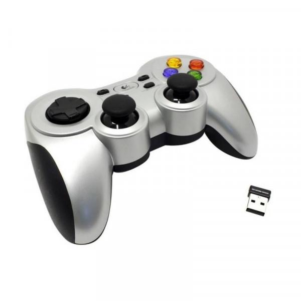 Control Gamer Logitech F710 Inalámbrico USB Plateado