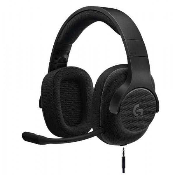 Diadema G433 Logitech Gaming Alámbrico Plug 3.5mm Negro