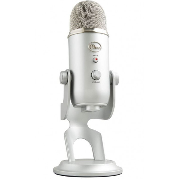 Microfono Yeti USB-Silver