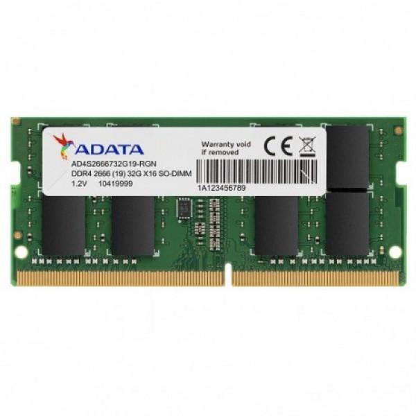 Memoria RAM Adata Portatil Ddr4 16gb BUS 2666