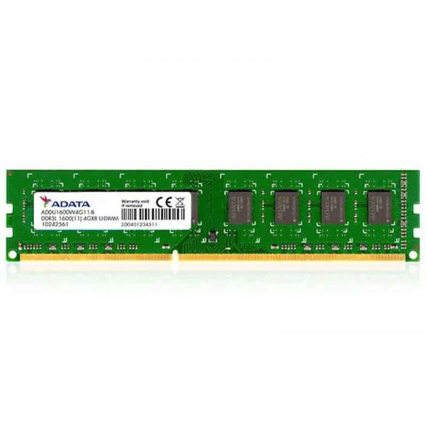 Adata Memoria Ram  Pc Ddr3 4gb Bus 1600 Low Voltage