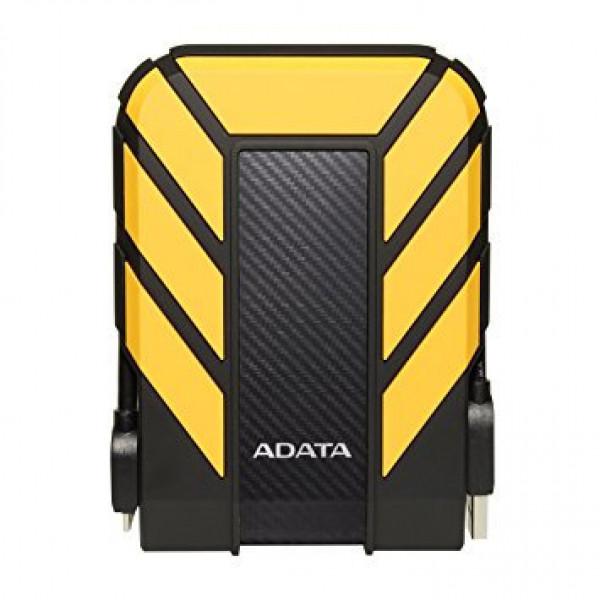 Disco Duro Externo Antigolpes Sumergible Adata HD710P 2TB Amarillo