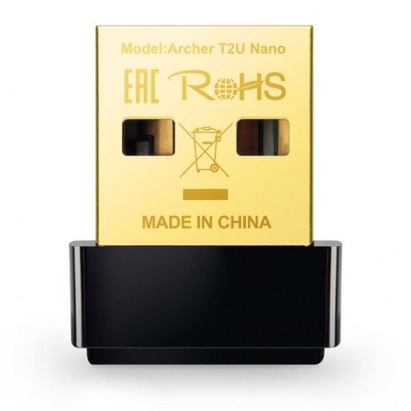 Tarjeta de Red nano USB TPLINK  - Inalambrica  Doble banda AC600