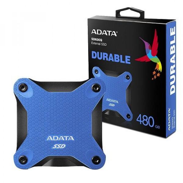 SSD EXTERNO ADATA 480GB ANTIGOLPES SD600 480GB AZUL