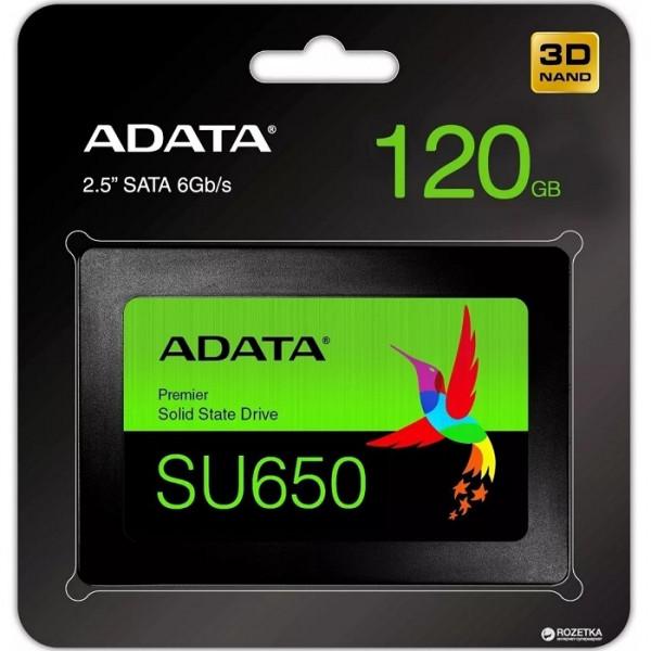 Disco de estado sólido 120GB Adata SSD SATA SU650