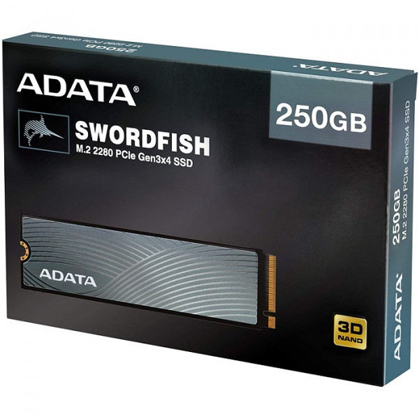 Disco Solido M.2 250gb Adata Swordfish Pcie 3x4 Nvme