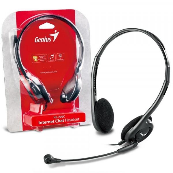 Audifono Genius HS-200C 2 Plug