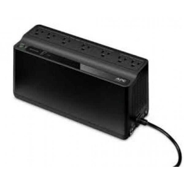 Unidad Back-UPS ES de APC, 6 tomas de salida, 255Vatios / 425VA  120 V, Latinoamérica