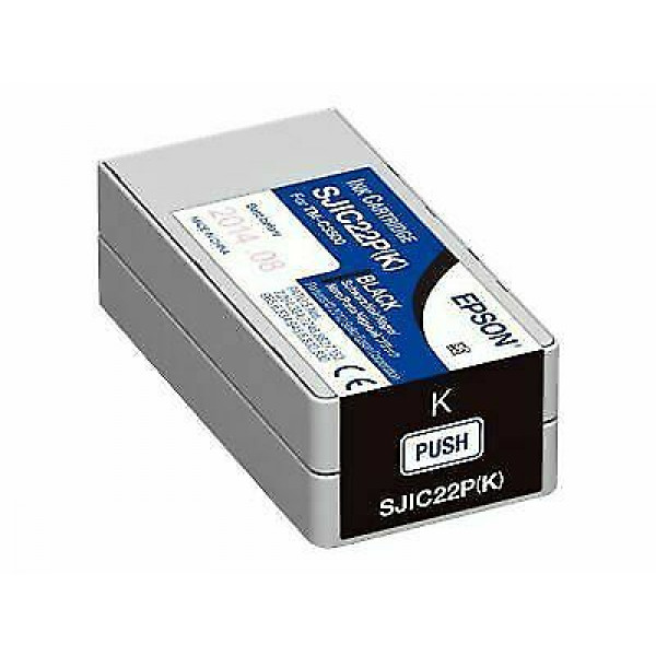 Cartucho de Tinta Negro Epson SJIC22P Tinta
