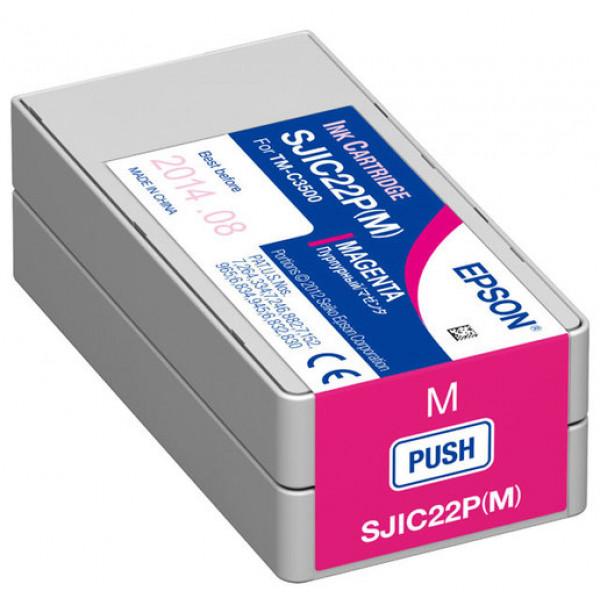 Sjic22P Para Colorworks Color Magenta Tm-C3500