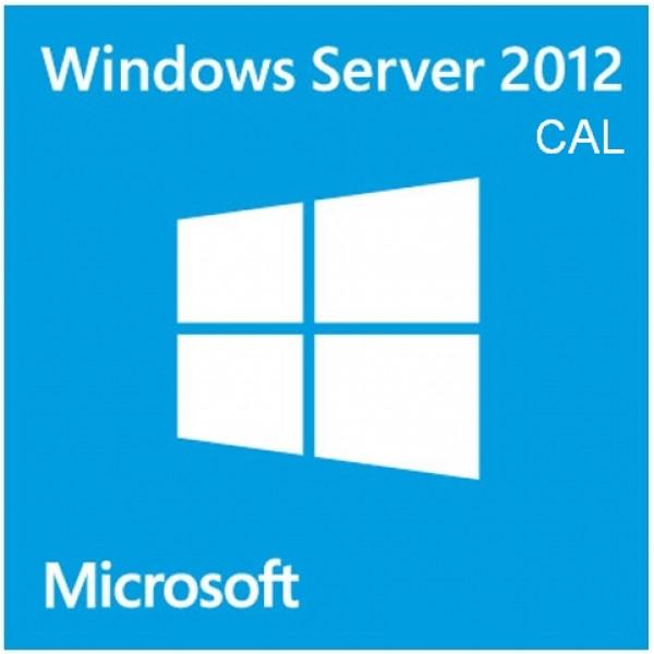 Cal de Windows Server 2012 para 5 usuarios - Multilenguaje
