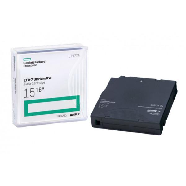 Cartucho de datos HPE LTO-7 Ultrium 15TB RW