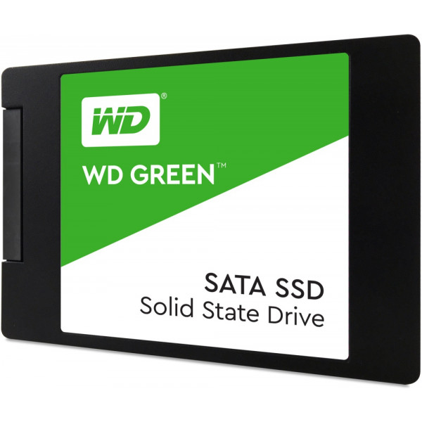 Disco de estado solido SSD Western Digital Green, 120GB, SATA III, 2.5