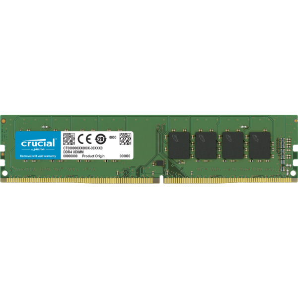 Memoria RAM Crucial 8Gb Ddr4 2400 Mt/S (Pc4-19200) Cl17 Sr X8 Unbuffered Dimm 288Pin
