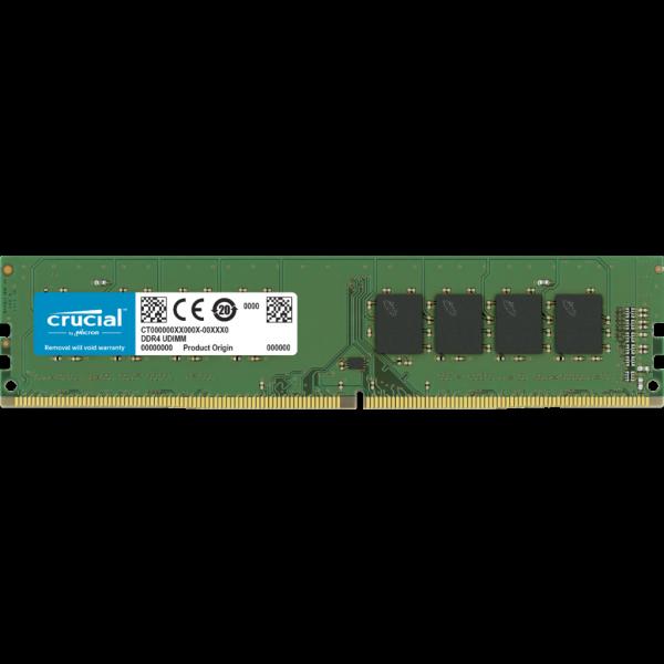 Memoria RAM Crucial 8 Gb Ddr4 2666 Mt/S Pc4-21300 Cl19 Sr X8 Unbuffered Dimm 288Pin