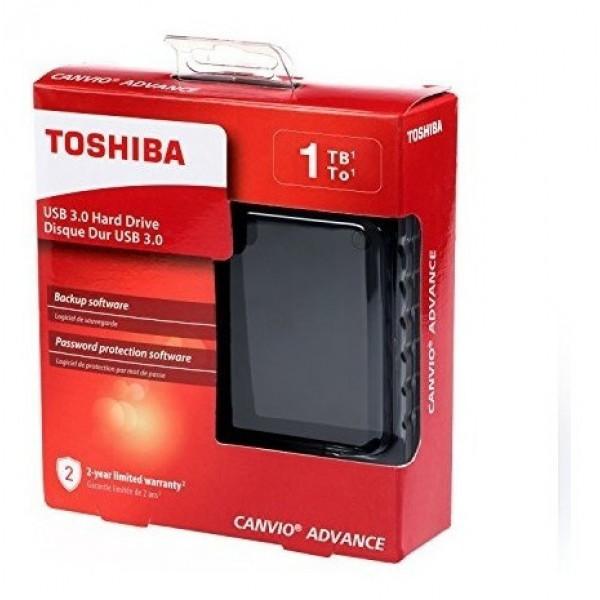 Disco Duro Externo Toshiba Canvio Advance 1TB Negro