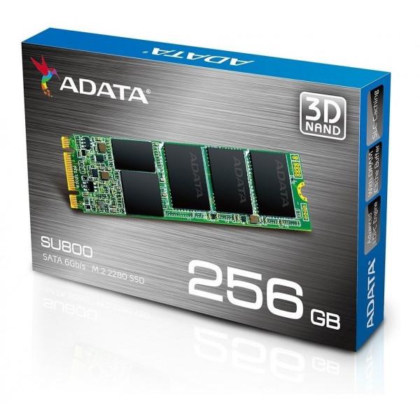 Disco de estado sólido 256GB Adata SSD SATA M.2 SU800