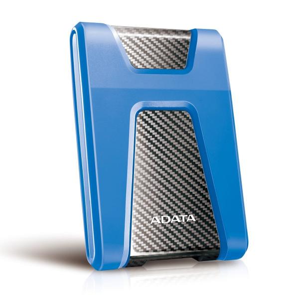 Disco Duro Externo Antigolpes Adata HD650 1TB  Azul