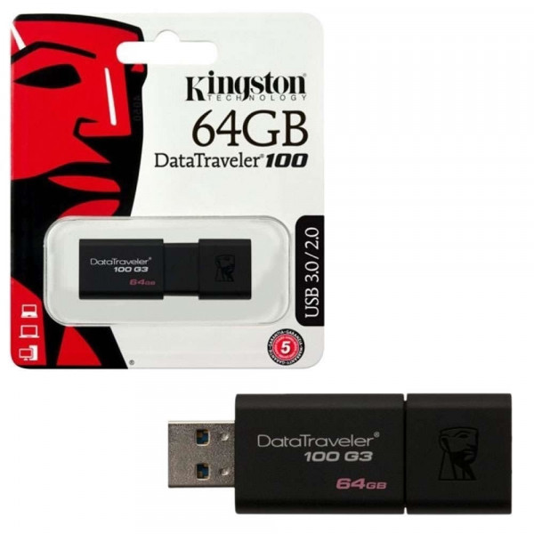 Memoria USB  DataTraveler 100 G3