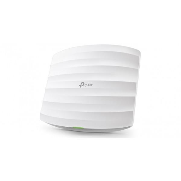 Acces Point TPLINK Corporativo tipo techo 350Mbps en total, con 450Mbps en 2.4GHz y 867Mpbs en 5GHz.