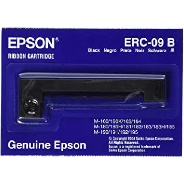 Cinta para Epson Serie M160, M180, M190, HX-20 Color Negro (5 unidades)