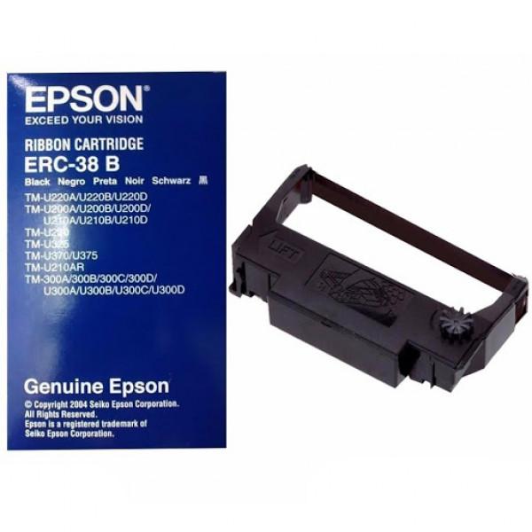 Cinta de impresión Epson ERC-38B negro