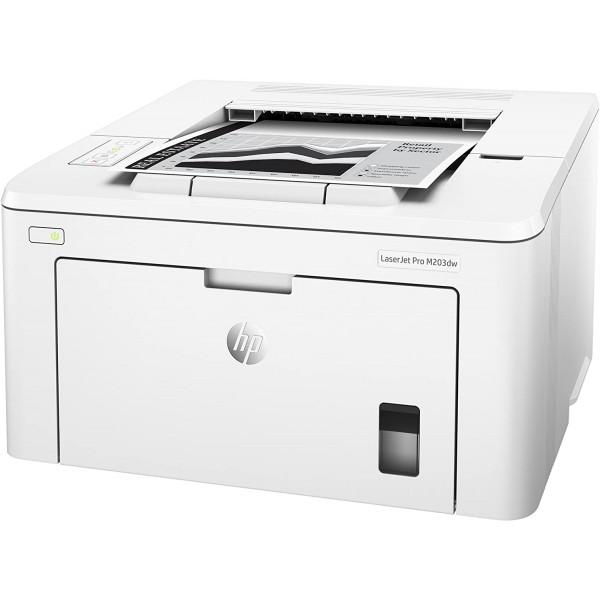 IMPRESORA HP LaserJet M203dw Impresora BN 30 ppm 1 A 5 USUARIOS  Wi-Fi 802.11b/g/n integrada USB Duplex
